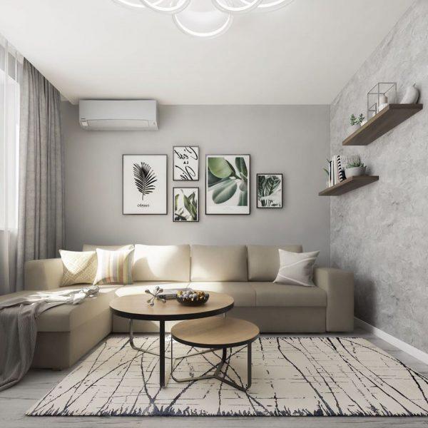 Дизайн гостиной 15 кв. м. Оформление современного интерьера